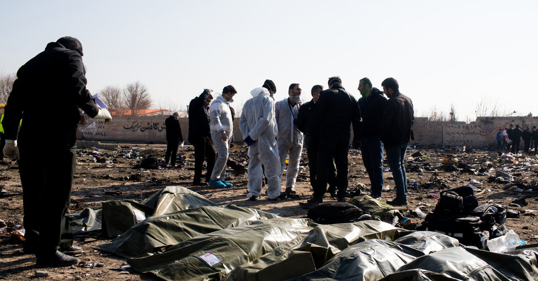 Iran Says It Unintentionally Shot Down Ukrainian Airliner