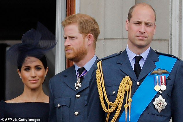 Brothers Prince Harry and William jointly break cover as they deny bullying claims