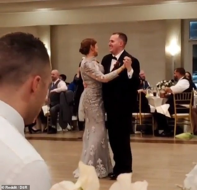 "Wedding guest is branded ""sad"" for watching football during the mother-son dance at the reception"