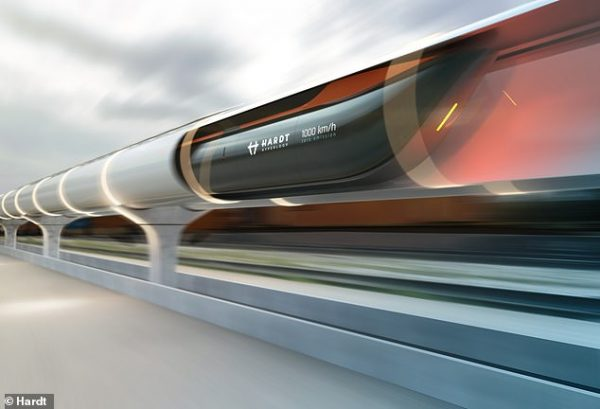 Hyperloop network connecting Amsterdam and Paris could be running by 2028 says Hardt Hyperloop